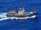 Čínští aktivisté plují vstříc japonskému souostroví Senkaku