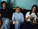 Legendární Nirvana: Dave Grohl, Kurt Cobain a Krist Novoselic