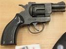 "Revolver, kter� policist� zadr�eli u ""�esk�ho Breivika"" v Ostrav�"