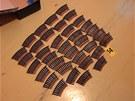 Policisté našli v ostravském bytě i velké množství munice
