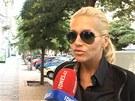 Dara Rolins jde k soudu znovu vypovídat (13. srpna 2012).