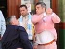 Robbie Williams jako drs��k v r�ov�