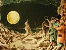 Z filmu Georgese Méliése Cesta na Měsíc