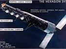 Systém Hexagon (KH-9, zvaný též Big Bird) se vyznačoval nosností čtyř