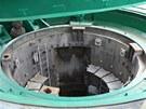 Víko raketového sila váží 120 tun a při bojovém poplachu se otvíralo za 6