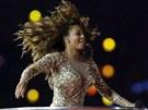 Mel B ze Spice Girls na z�v�re�n�m ceremoni�lu olympi�dy (12. srpna 2012)