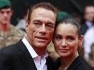 Jean-Claude Van Damme a jeho manželka Gladys Portuguesová