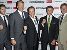 Scott Adkins, Dolph Lundgren, Jean-Claude Van Damme, Sylvester Stallone a