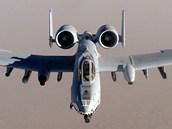 Americký bitevní letoun A-10 Thunderbolt II.