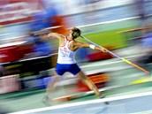 2010. Barbora Špotáková při atletickém mistrovství Evropy v Barceloně (29.