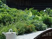 Bylinková a zeleninová zahrádka