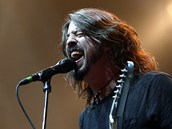 Foo Fighters v O2 aren�, 15. 8. 2012 (Dave Grohl)