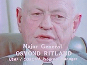Osmond Ritland, vedouc programu Corona (USAF)