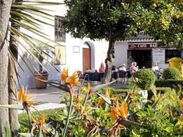 Marbella. Plaza de los Naranjos