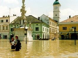Z�plavy v Uhersk�m Hradi�ti