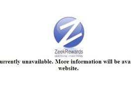 Str�nky ZeekRewards.com jsou nedostupn�.