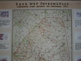 Mapa základny Pervomajsk