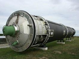 Mezikontinentální balistická raketa RS-20V Vojvoda (v kódu NATO SS-18 Satan).