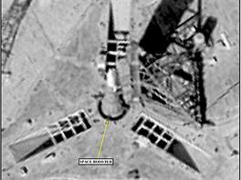 Špionážní snímek rakety  N1 z 19. září 1968