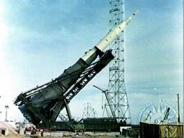 Vztyčování rakety N1