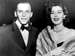 Zpěvák Frank Sinatra a herečka Ava Gardnerová