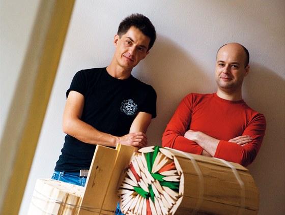 Jan Vacek a Martin Šmíd