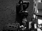 Sonda Curiosity fotografuje (20. srpna).