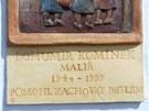 Při slavnosti otevření revitalizovaného Betléma v Hlinsku byla odhalena pamětní