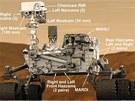 Možná nejslavnější robot současnosti - marsovská pojízdná laboratoř Curiosity