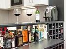Mezi hlavními požadavky na kuchyni byly co nejlépe využitý úložný prostor,
