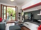 Obývací pokoj s jídelním koutem a terasou je nejdůležitějším prostorem