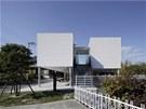 Takuya Tsuchidu navrhl dům na ocelových pilotech.