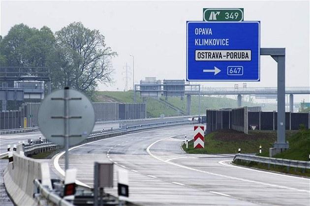 Nový úsek dálnice D47, který spojí Bílovec na Novoji�ínsku s Ostravou.