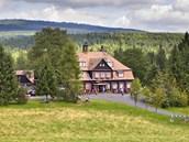 �ámalova chata na Nové louce v Jizerských horách