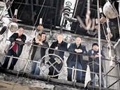 Buty 2012: (zleva) Milan Straka, Richard Kroczek, Milan Nytra, Petr Vavřík a