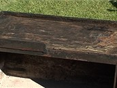 Žulový kámen silný 4 centimetry krásně drží teplo. Častým používám už lehce...