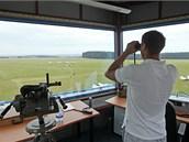 Letiště v Chotěboři použilo krajské peníze na rekonstrukci vzletové dráhy. Ta