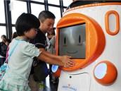 Robot Tawabo má sloužit jako průvodce nejen pro děti