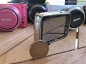 Nikon Coolpix S01 sází i na luxusnější vzhled