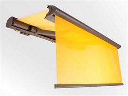 Markýza Opal Design Lux od německého výrobce Weinor vybavená světelným panelem