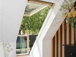 Střešní balkon je ideálním řešením všude tam, kde zdispozičních důvodů