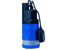 Ponorné tlakové čerpadlo je určeno pro čistou vodu - tomu odpovídá i jemná