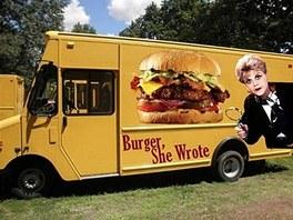 To je burger, napsala...