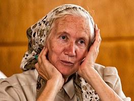 Kurz českého jazyka v Dobrušce absolvuje i Maria Kopervas z Ruska.