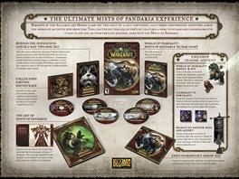 World of WarCraft: Mists of Pandaria - obsah sběratelské verze