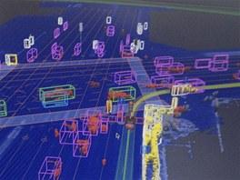 Jak automatické auto Google vidí svět