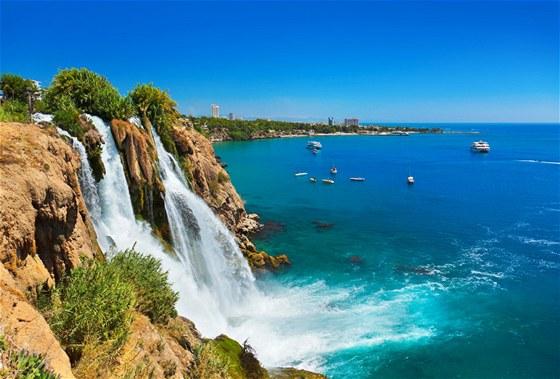 Antalya - vodopád Duden