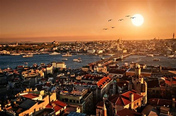 Istanbul - pohled na staré město
