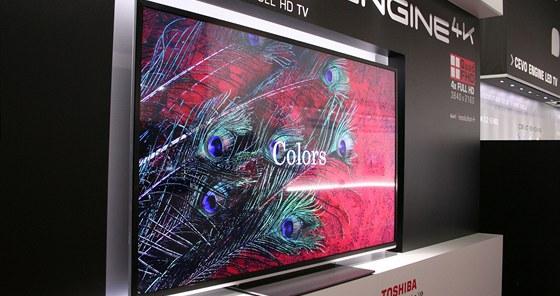 Nový 84palcový model 4K model televize Toshiba