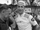 Tom Simpson v Angers p�ed startem Tour de France
